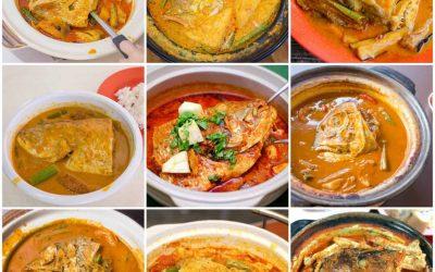 món cà ri đầu cá Singapore