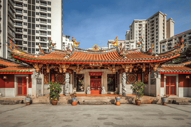 Chùa Phụng Sơn Trì (Hong San See)